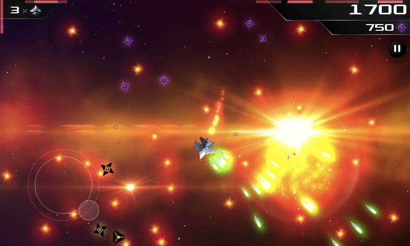 SCAWAR Arcade Space Shooter- screenshot
