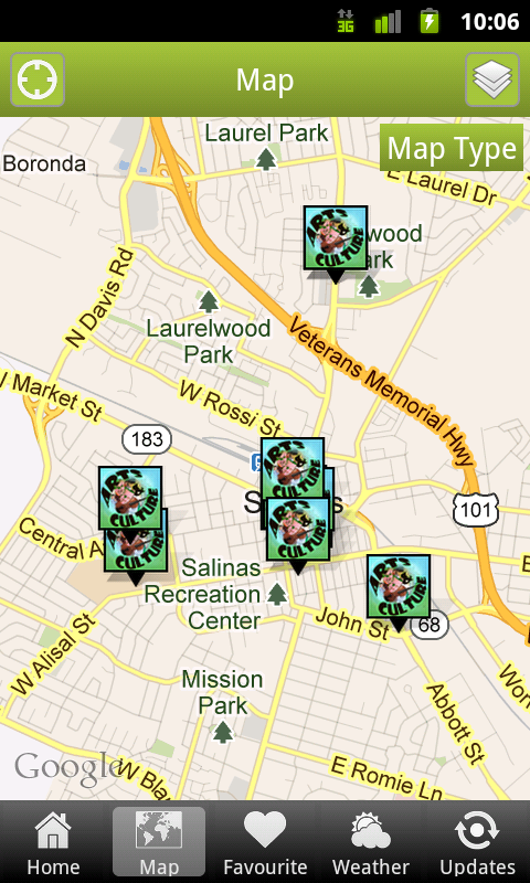 Salinas 411 Locals Guide- screenshot