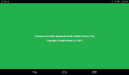 Common Core Grade 4 Math Lite