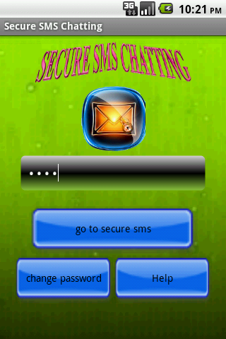 Secret Chatting - screenshot