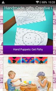 Handmade gifts. Creative idea