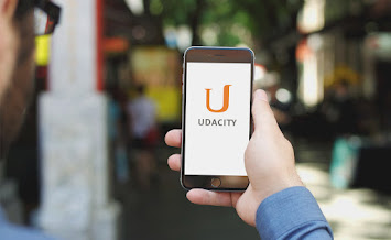 Udacity on an iphone