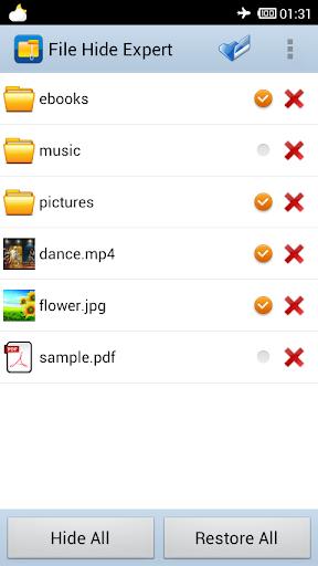 玩工具App|ファイルを隠す - Hide Expert Pro免費|APP試玩