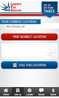 Screenshot of Liberty Tax App
