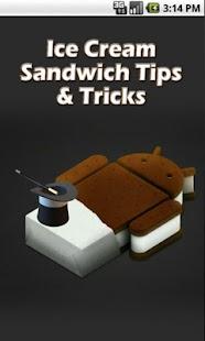 Ice Cream Sandwich Tips Screenshot 1