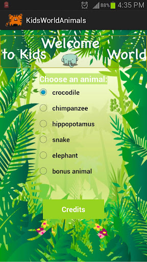 Kids World Animals Jungle