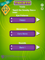Screenshot of Teksta Scooby App