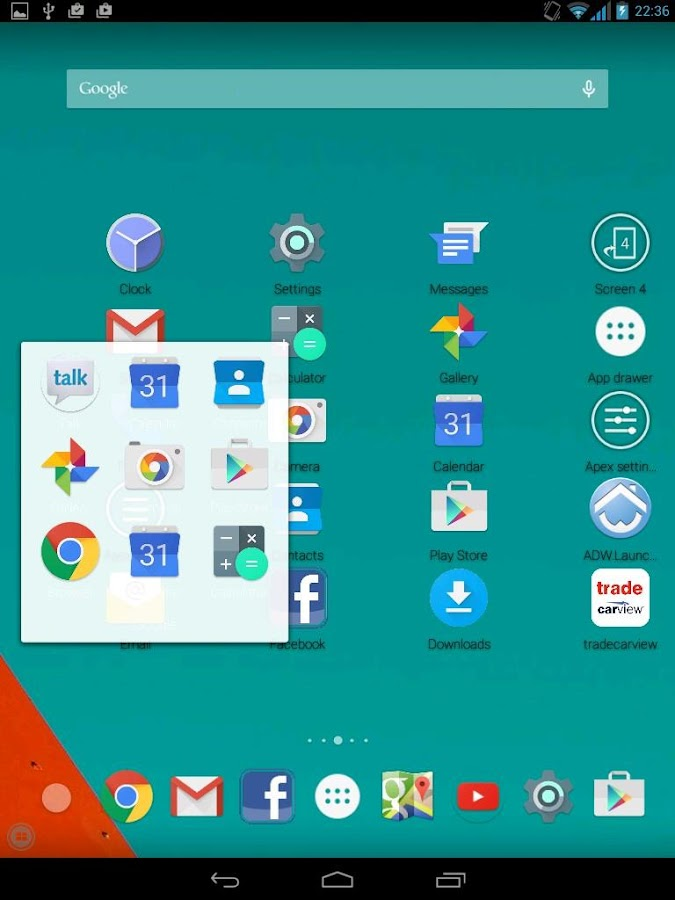 Galaxy S6 Launcher Theme- screenshot