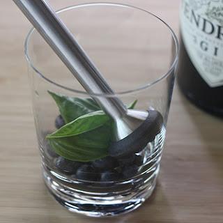 Blueberry Basil Hard Lemonade.