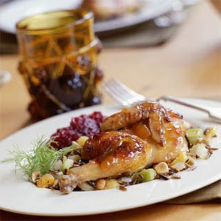 Cornish Hens With Wild Rice Stuffing Recipes.