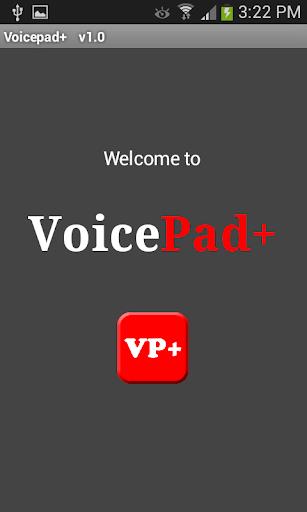 Voice Pad Plus