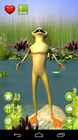 Screenshot of Talking Frog