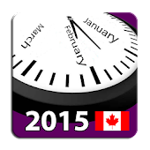 2015 Canada Holiday Calendar
