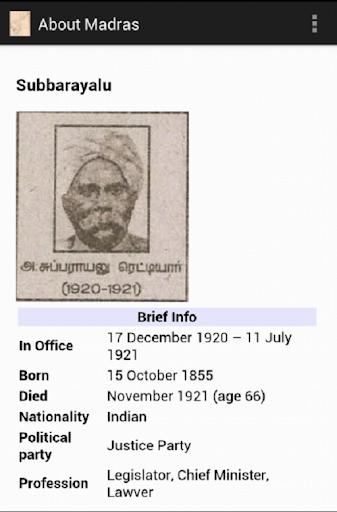 About Madras Presidency