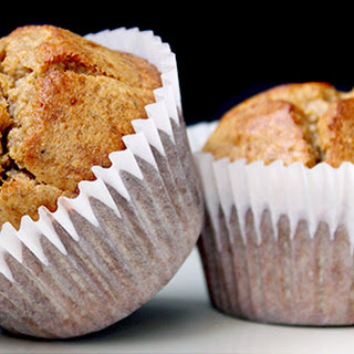 Banana Nut Protein Muffins.