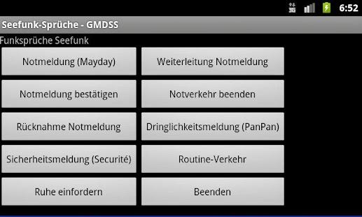 Radio Messages (GMDSS)- screenshot thumbnail