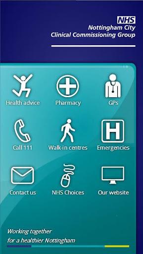 NHS Nottingham Health App