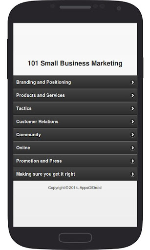 101 Small Business Marketing