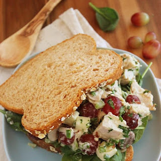 Chopped Turkey or Chicken Salad Sandwiches.
