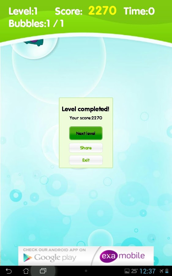 Bubbles Brain Games- screenshot