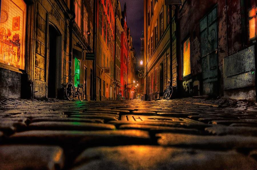 by John Aavitsland - City,  Street & Park  Night ( stocholm )