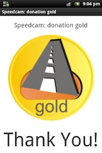 Speedcam: donation gold- screenshot thumbnail