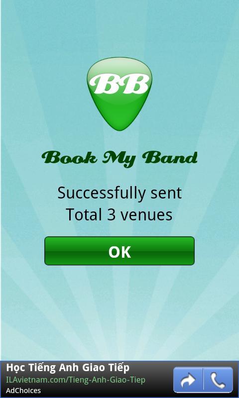 BookMyBand Free - screenshot