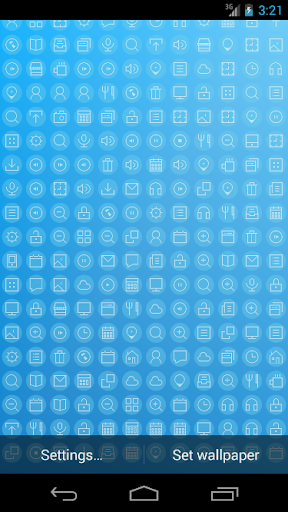 IconographyFree Live Wallpaper
