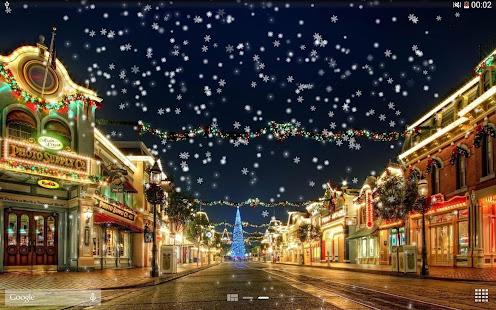 Snow Night Live Wallpaper HD 12