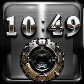 Hummer Digital Clock Widget
