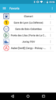 Screenshot of Horaires Me ! (Paris)