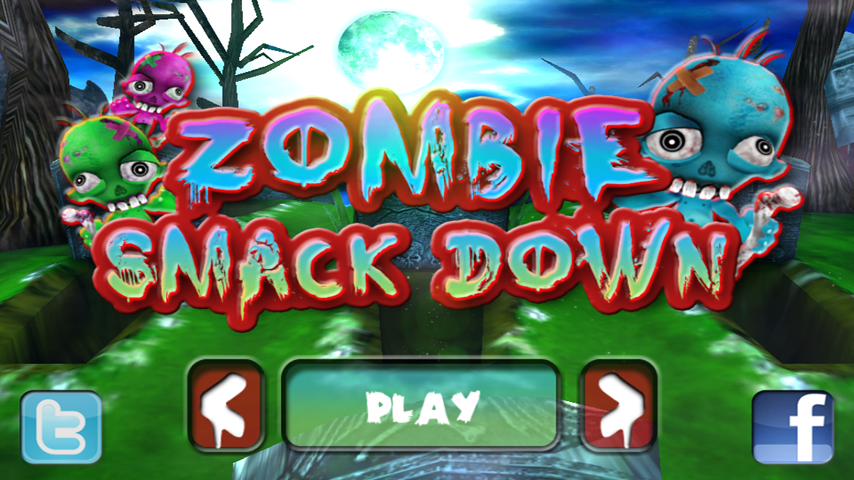 Zombie Smack Down - screenshot