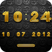DISCO Digital Clock Widget