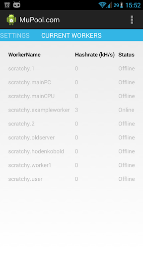 MuPool.com Mining Monitor