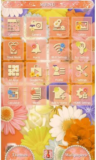 Flower Wallpaper Happiness 1.2 Windows u7528 2