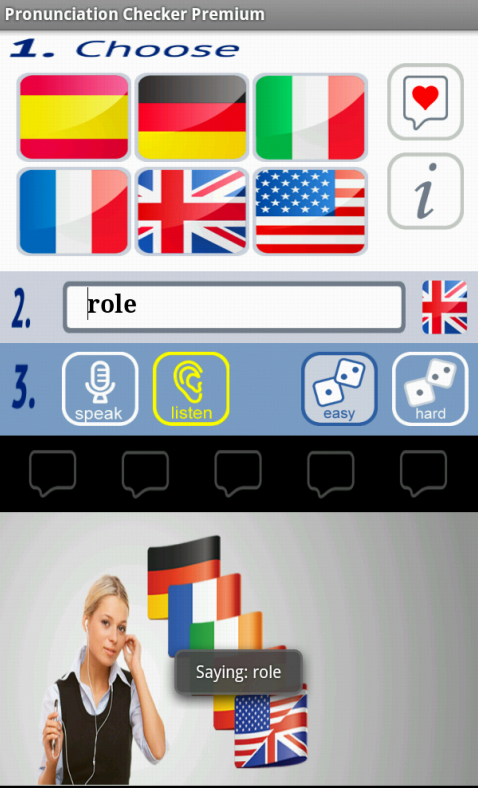 Pronunciation Checker Free - screenshot