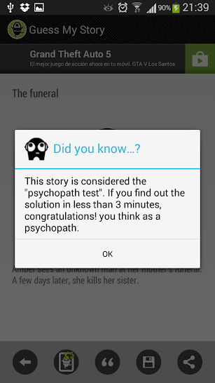 Guess My Story screenshot for Android