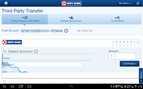 HDFC Bank Tablet 5