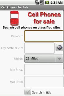 Find Used Cell Phones - screenshot thumbnail