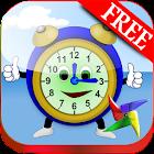 Uhr Lernspiele Grundschule icon