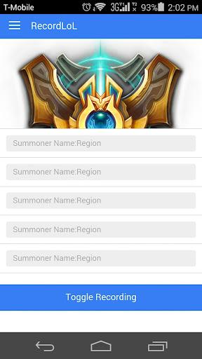 RecordLoL - League of Legends