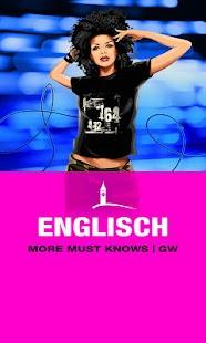 ENGLISCH More Must Knows | GW- screenshot thumbnail