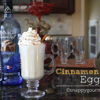 Cinnamon Roll Eggnog.