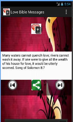 Bible Love Messages - screenshot