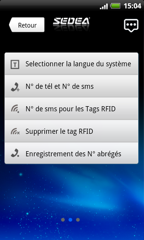S5 SEDEA - screenshot