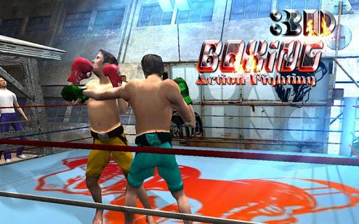 ボクシングアクション格闘ゲーム