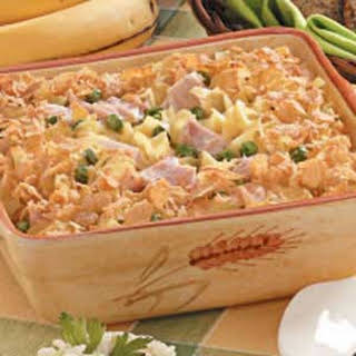 Tuna Noodle Casserole for Two.