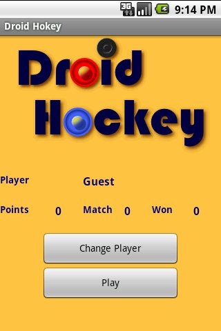 Droid Hockey - screenshot