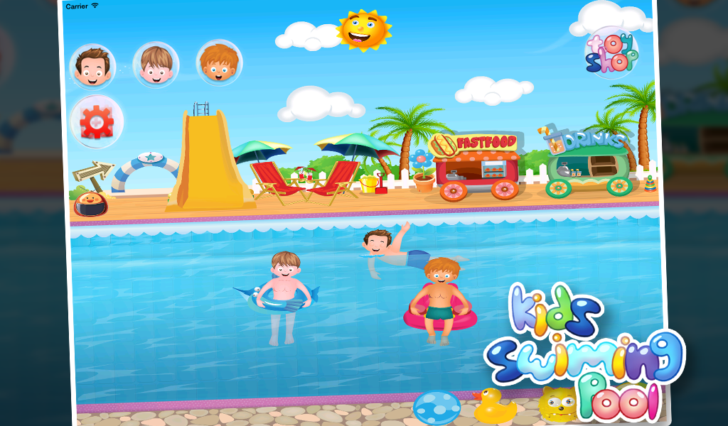 Kids Swimming Pool For Boys Android Apps On Google Play