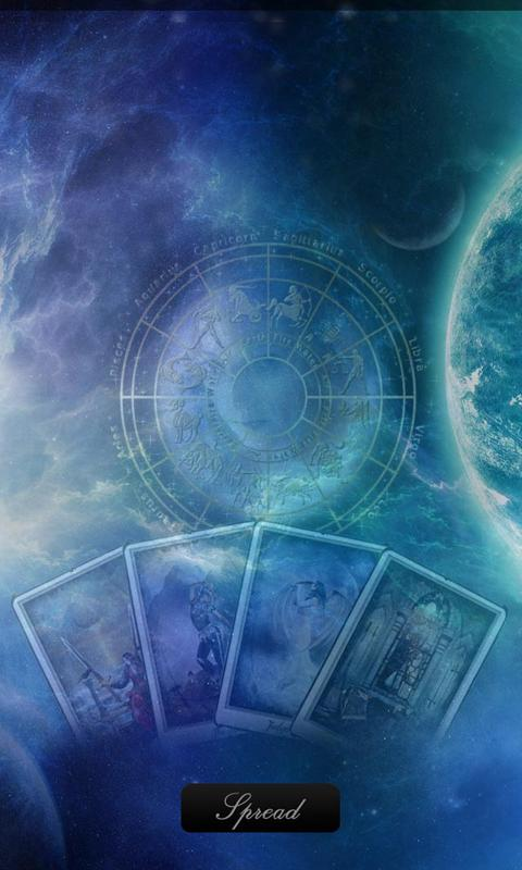 Aquarius Era Tarot Pro - screenshot